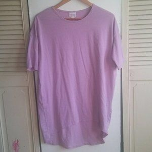 LuLaRoe Lilac Purple Short Sleeve Top Sz XXS